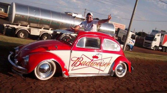 Fusca Budweiser
